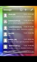 Screenshot of GO Widget Theme Sense 3.0