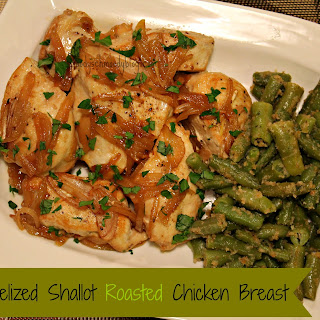 Caramelized Shallot Roasted Chicken Breast