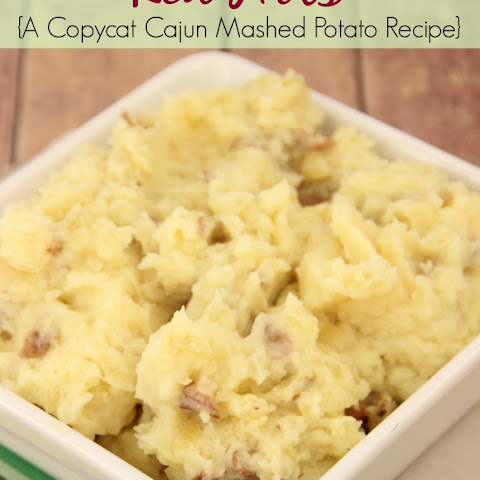 Red Hots {Cajun Mashed Potatoes}