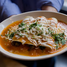 Spinach and Mushroom Enchiladas Recipe