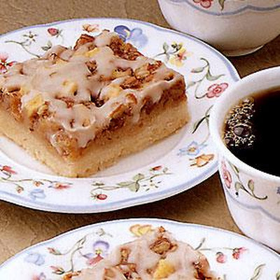 Toffee Apple Coffee Time Bars