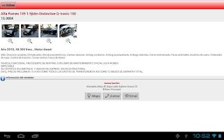 Screenshot of e-renova.net Coches de ocasion