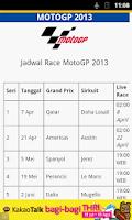 Screenshot of MotoGP Indonesia