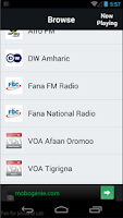 Screenshot of Ethiopian Radio Streaming