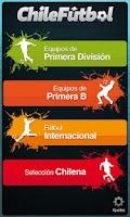 Screenshot of Chile Futbol