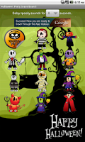 Screenshot of Halloween Party Sound Lite