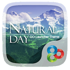 Natural Day GO Launcher Theme