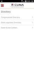 Screenshot of CUNA Advocacy