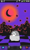 Screenshot of Pesoguin LWP Halloween Free