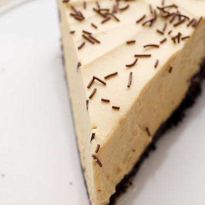 Salted Caramel Icebox Pie