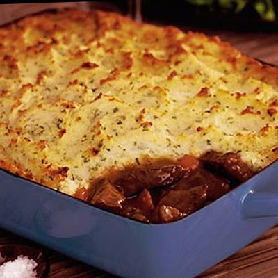 Braised Beef & Roasted Garlic Pie