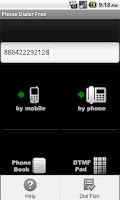 Screenshot of Phone Dialer Free