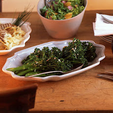 Spicy Sauteed Broccolini with Garlic
