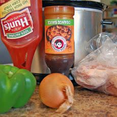 Sweet and Sour Pork Chops in the Slow Cooker or How to Make Dinner from What's in the Fridge