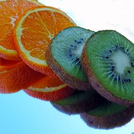 orange and kiwi by LADOCKi Elvira - Food & Drink Fruits & Vegetables ( fruits )