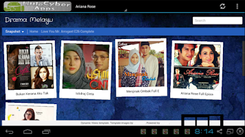 Screenshot of Malay Drama Serial