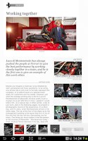 Screenshot of The official Ferrari Magazine