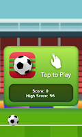 Screenshot of Crazy Soccer Ball Kicks