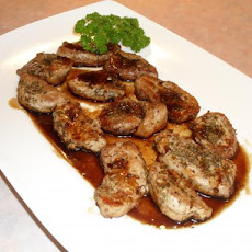Balsamic Rosemary Pork Cutlets