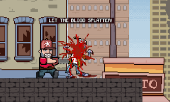 Screenshot of Zombie Chainsaw Massacre