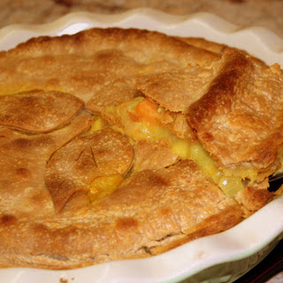 Curry Gravy Vegetable Pot Pie [Vegan]