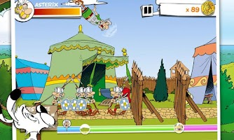 Screenshot of Asterix Megaslap