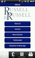 Screenshot of Russell & Russell