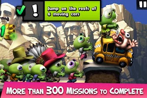 Screenshot of Zombie Tsunami