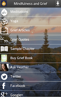 Mindfulness and Grief - screenshot