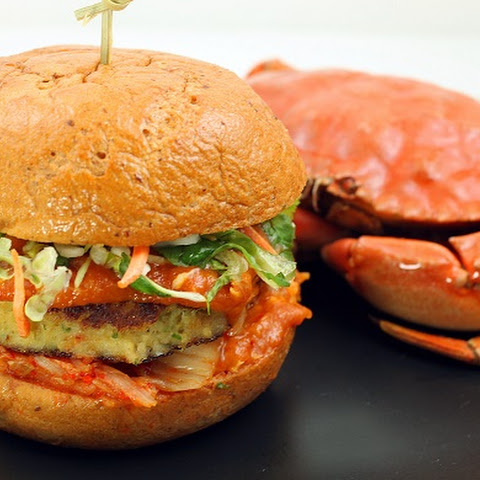 Singapore Chili Crab Burger