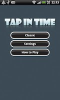 Screenshot of Tap in Time