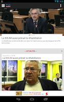 Screenshot of TVA Nouvelles