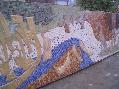 Hanoi Mural - Feb 2008