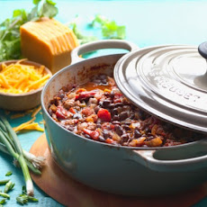 Turkey and Black Turtle Bean Chili