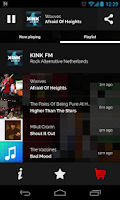 Screenshot of MPme Radio