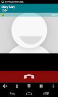 Screenshot of Nubitalk Phone