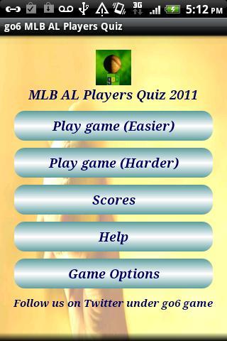 go6 MLB AL Players Quiz