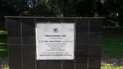 Processional Way Monument