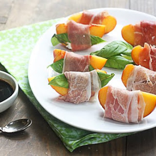 Prosciutto-wrapped Summer Peaches