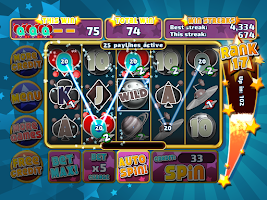 Screenshot of Astro Invaders Slots