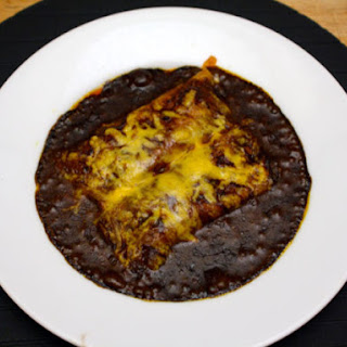 Original Cheese Enchiladas with Chili Gravy