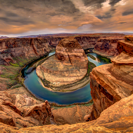 Horseshoe Bend by Victor Martin - Landscapes Caves & Formations ( desert, page, arizona, horshoebend, river,  )