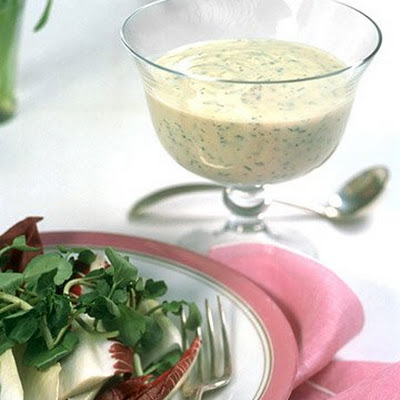 Creamy Lemon-Herb Dressing