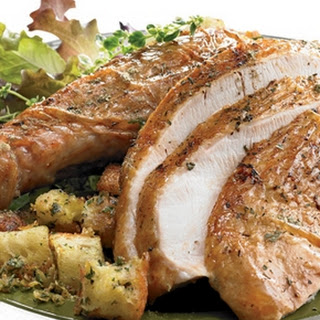 Classic Roast Chicken with Stuffing