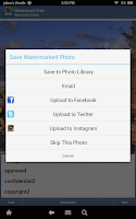 Screenshot of iWatermark