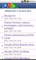 Screenshot of Launch GTUG Argentina 2012