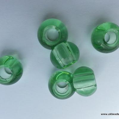 European Bead Light Green x1