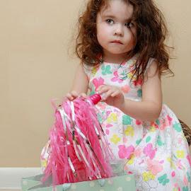 Gia by Humberto Reyno - Babies & Children Children Candids ( babies, girls, easter, shot by canon, sunday, children )