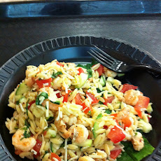 Fatoush Orzo Salad