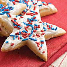 Frosted Sugar-'n'-Spice Cookies